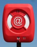 e - mail koło ratunkowe Zdjęcie Royalty Free