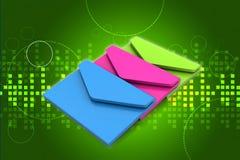 E-Mail, Kommunikationskonzept Stockbild