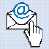 E-Mail-Letter Royalty Free Stock Photo