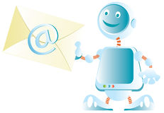 E-mail letter Stock Photo