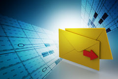 E mail letter Stock Photography