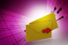 E mail letter Royalty Free Stock Image