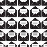 E-mail letter envelope Seamless vector EPS 10 Pattern vector illustration