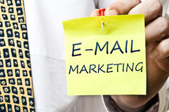 E-mail marketing Stock Images