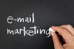 E-mail marketing Royalty-vrije Stock Afbeeldingen