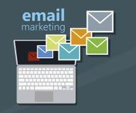 E-mail Marketing vector illustratie