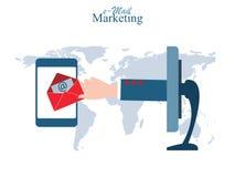 E-mail Marketing Stock Afbeelding