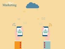 E-mail Marketing Royalty-vrije Stock Afbeeldingen