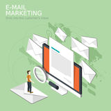 E-mail marketing concept Royalty Free Stock Photo