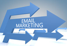 E-mail Marketing Royalty Free Stock Images