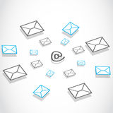 E-mail messaging technology Stock Image