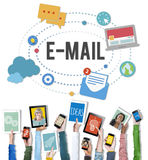 E-mail Online Messaging Correspondence Concept Stock Photo