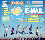 E-mail Online Messaging Correspondence Concept Stock Photography