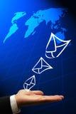 E-mail oplossingen Royalty-vrije Stock Afbeelding