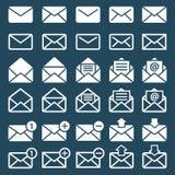E-Mail--, Post- oder smsikonen lizenzfreie abbildung