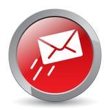 E-mail/postpictogramknoop stock illustratie