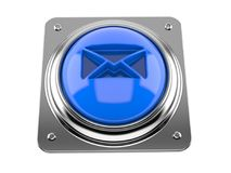 E-mail push button Stock Photography