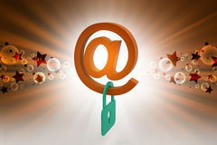 E-mail security concept Royalty Free Stock Image