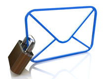 E-mail Security Royalty Free Stock Images