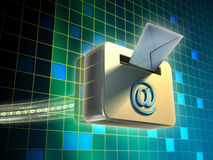 E-mail service Stock Images