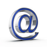 E-mail sign Royalty Free Stock Photography