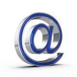 E-mail sign. Isolated on white background stock illustration