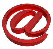 E-Mail sign Royalty Free Stock Photo