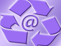 E-mail sign. As symbol of internet and communication vector illustration