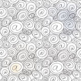 E-mail sign seamless background. email or spam mail pattern concept. Seamless pattern with textured  white and grey background Royalty Free Stock Photos