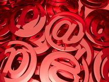 E-mail signs Royalty Free Stock Photo