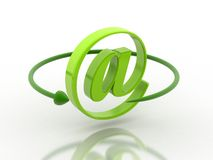 E-mail simbol Royalty Free Stock Photo