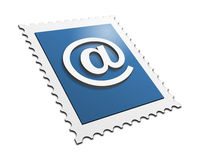 E-mail Stamp Royalty Free Stock Photography