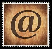 E-mail Stamp Royalty Free Stock Photos