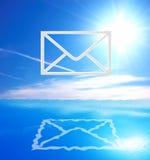 E-mail symbol royalty free stock photo