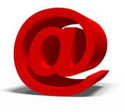 E-mail symbol Royalty Free Stock Photos