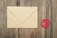 E-Mail-Symbol Stockfoto