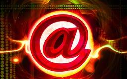 E-mail symbol. Digital illustration of Stock Photo
