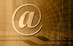 E-mail symbol Royalty Free Stock Images