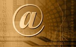 E-mail symbol. Digital illustration of Royalty Free Stock Images