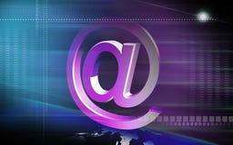E-mail symbol. Digital illustration of Stock Image