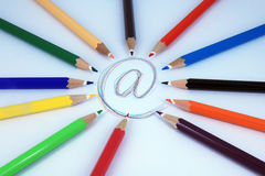E mail Royalty Free Stock Photos