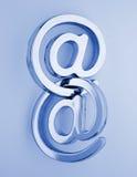 @ - e-mail symbols Royalty Free Stock Image