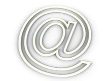 E-mail teken Royalty-vrije Stock Foto's