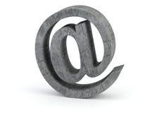 E-mail teken Stock Foto