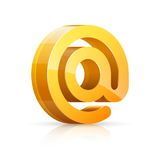 E-mail. Royalty Free Stock Photo