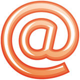 E-mail vectorsymbool Stock Afbeeldingen