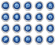 E-mail web icons Stock Photo