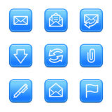 E-mail web icons Stock Photography