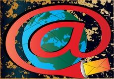 E-mail Wereld vector illustratie