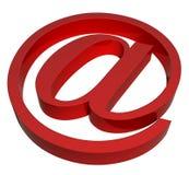 e - mail znak Zdjęcie Royalty Free